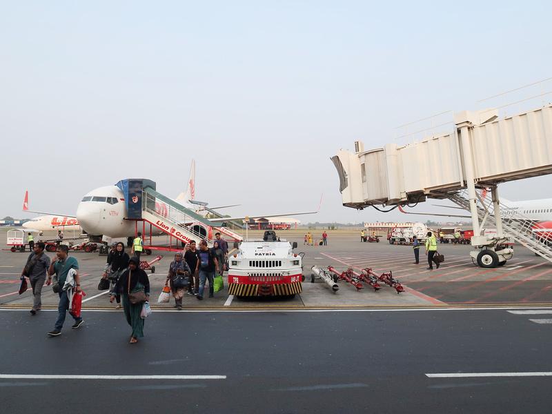 Arrived at Jakarta