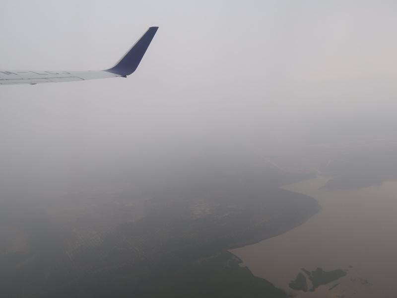 Departing Hazy Malaysia