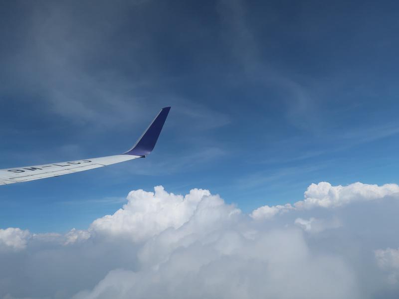 Blue sky again