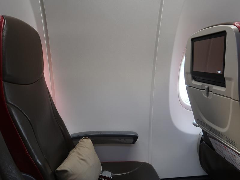 Seat 8A - no window