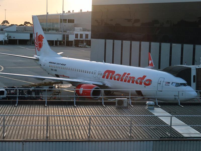 Malindo Air at MEL