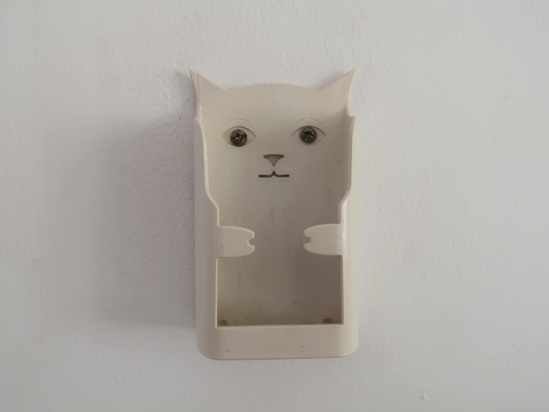 Cat AC holder