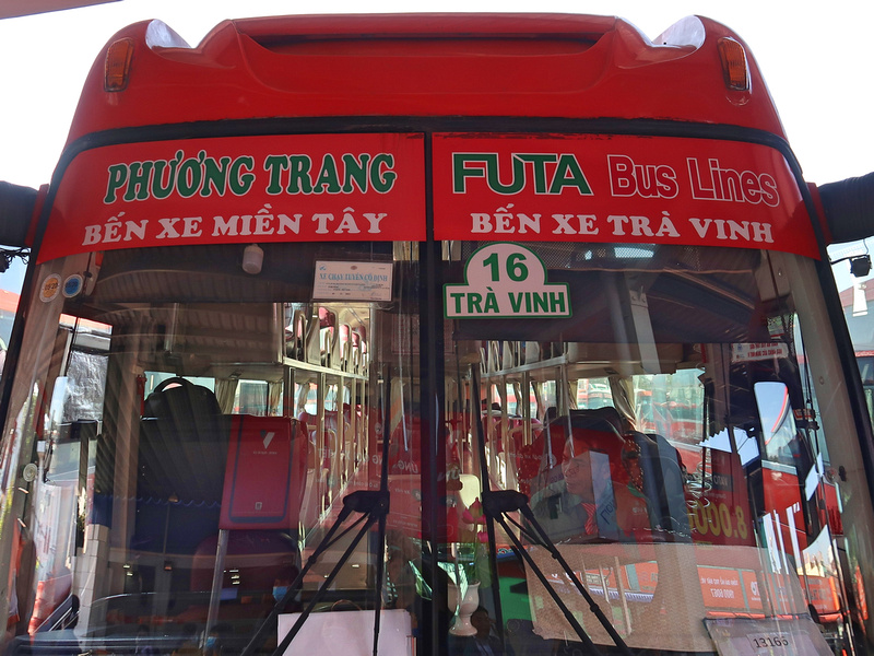 Mien Tay to Tra Vinh bus