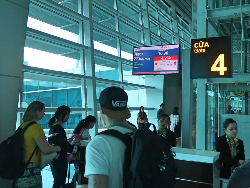 DAD boarding CNX