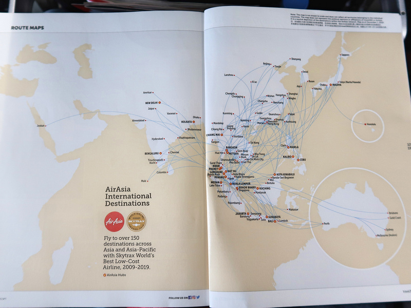 AirAsia map