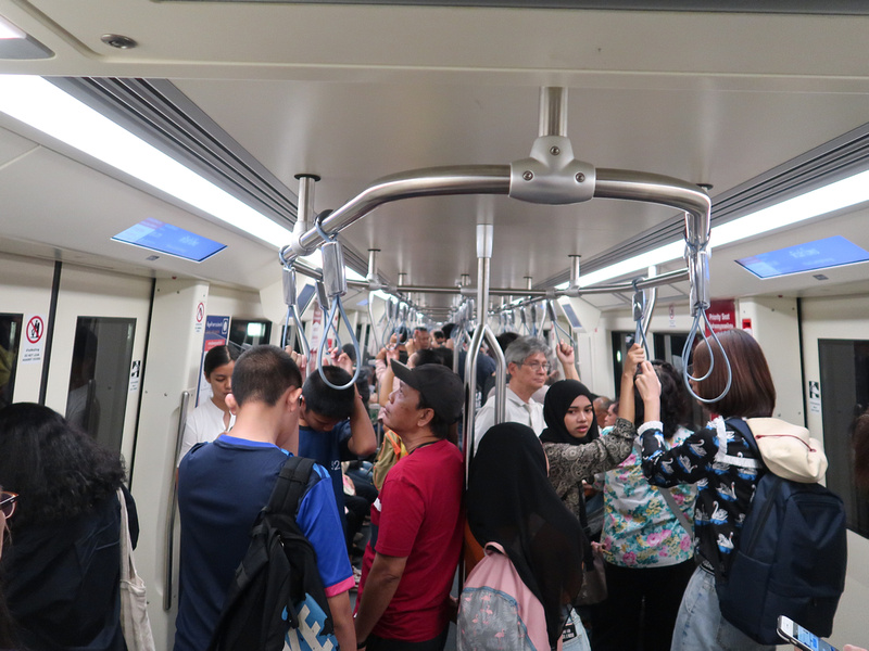 MRT passengers