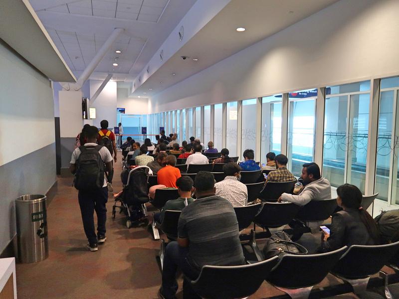 L1 boarding area
