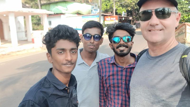 Selfie in Baga
