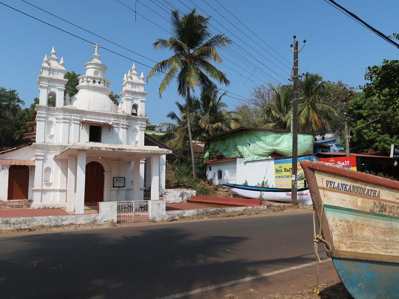Baga River church