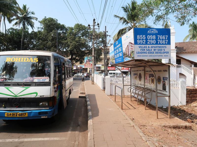 Anjuna Bus Stop