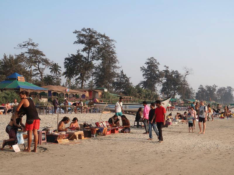 Beach market