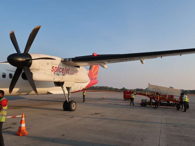 SpiceJet at GOI