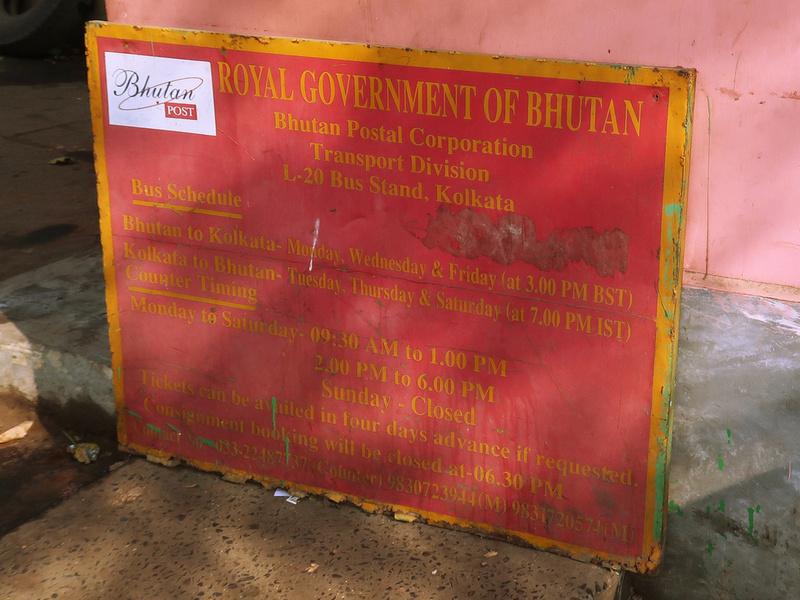 Bhutan bus schedule