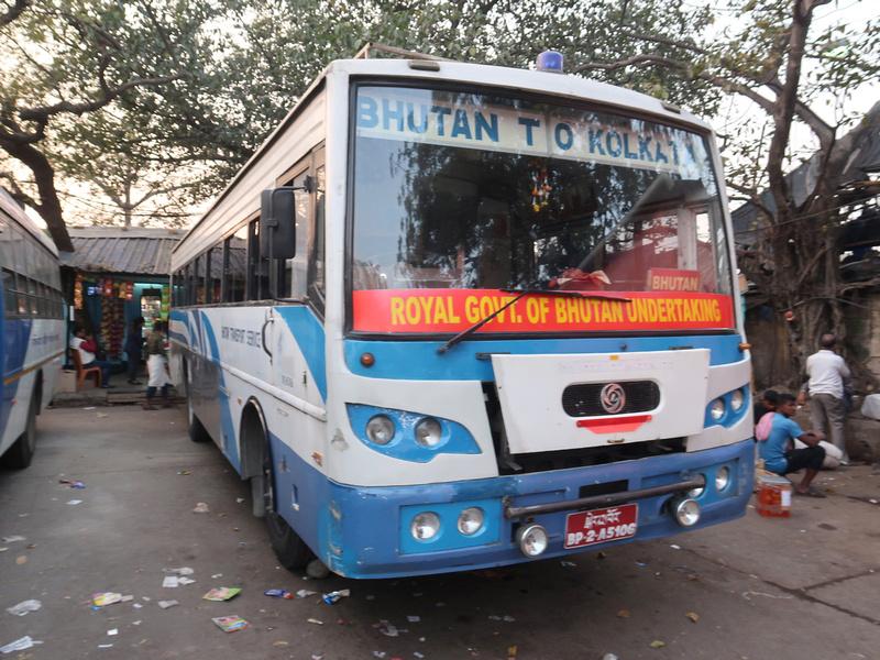 Bhutan to Kolkata