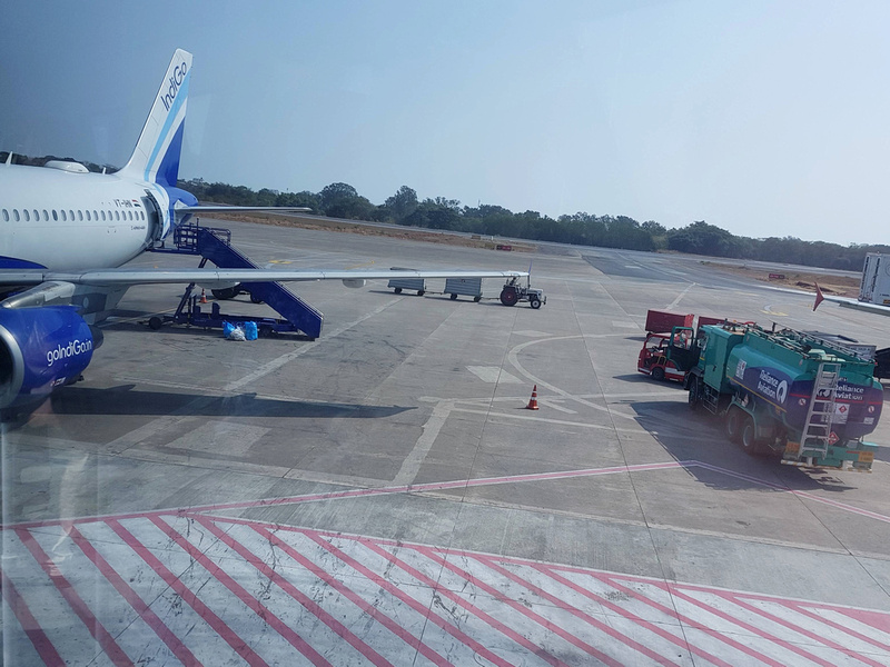 IndiGo at GOI