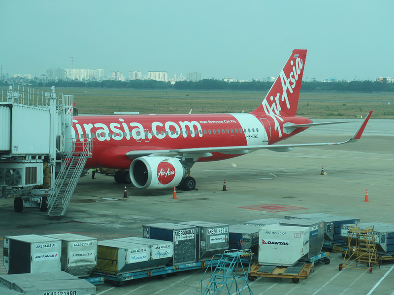Flight Review: AirAsia - Ho Chi Minh City to Bangkok