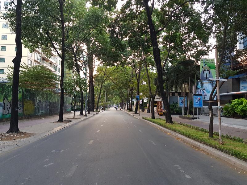 Empty Pasteur St