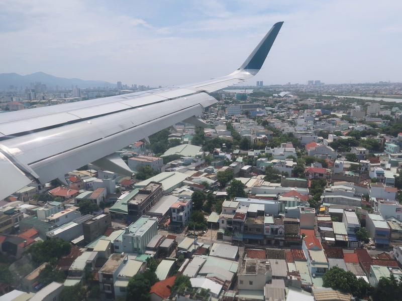 Approaching Da Nang
