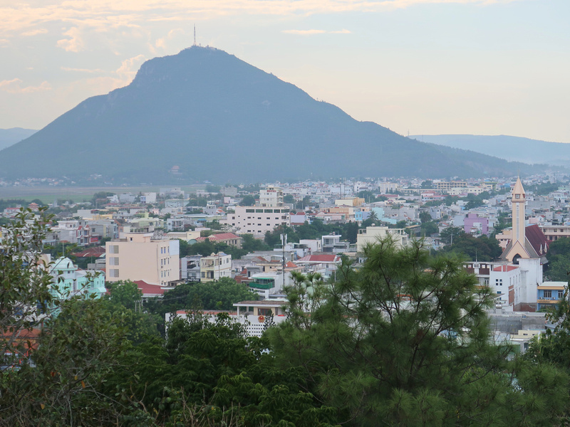 View of Chop Chai Mountain