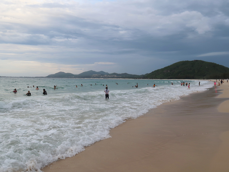 Vinh Hoa evening swimmers