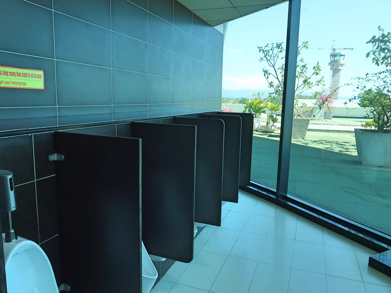 Mens toilet view