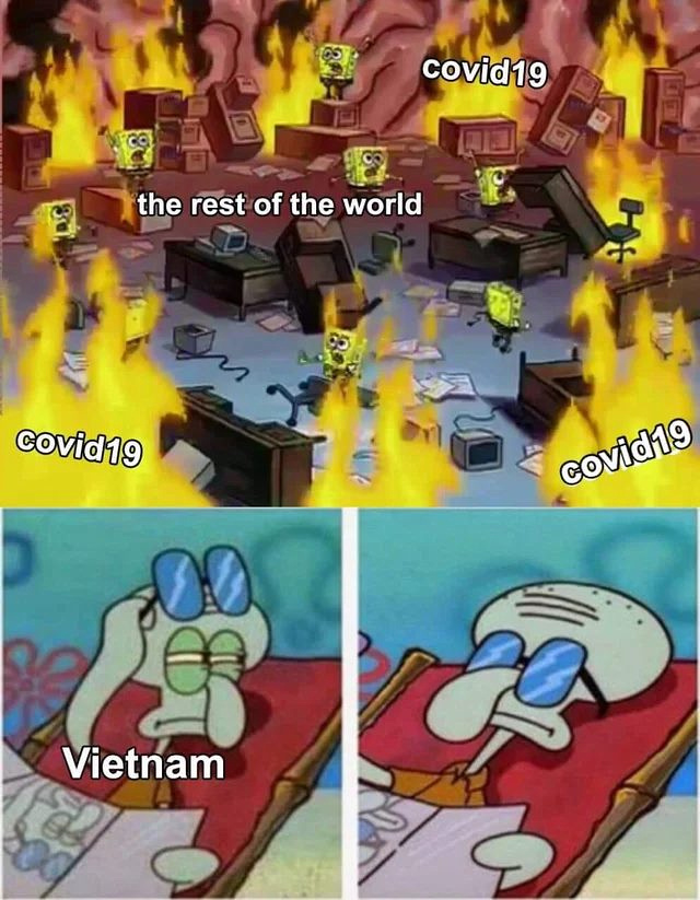 Vietnam covid-19 and rest of the world