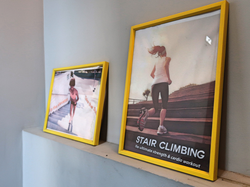 Stairs for exercise