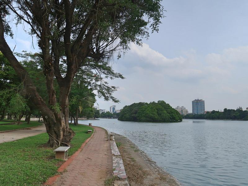 Union Park lake