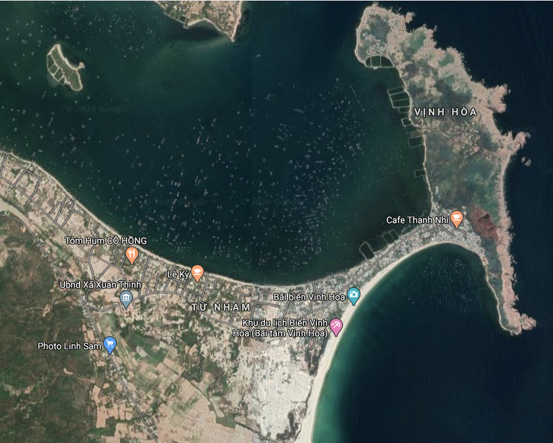 Vinh Hoa satellite view