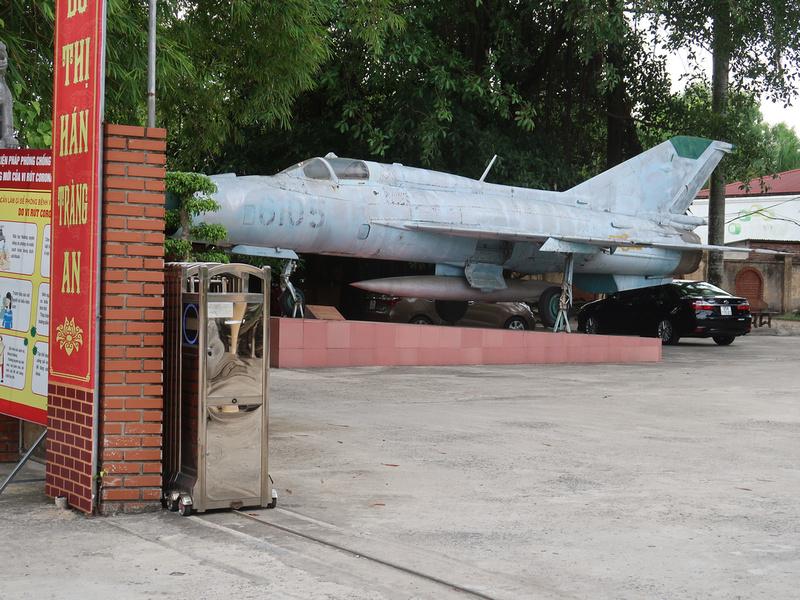 War Plane at Ninh Binh museum