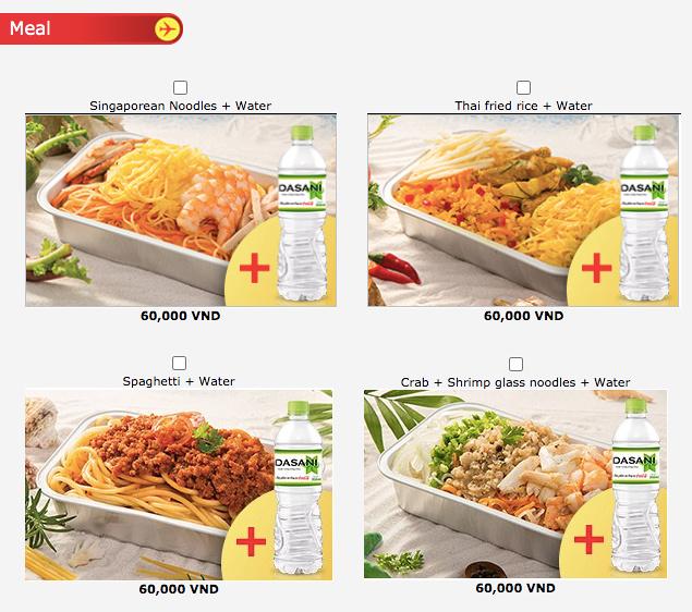 Food options