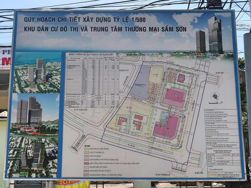 Future development in Sam Son