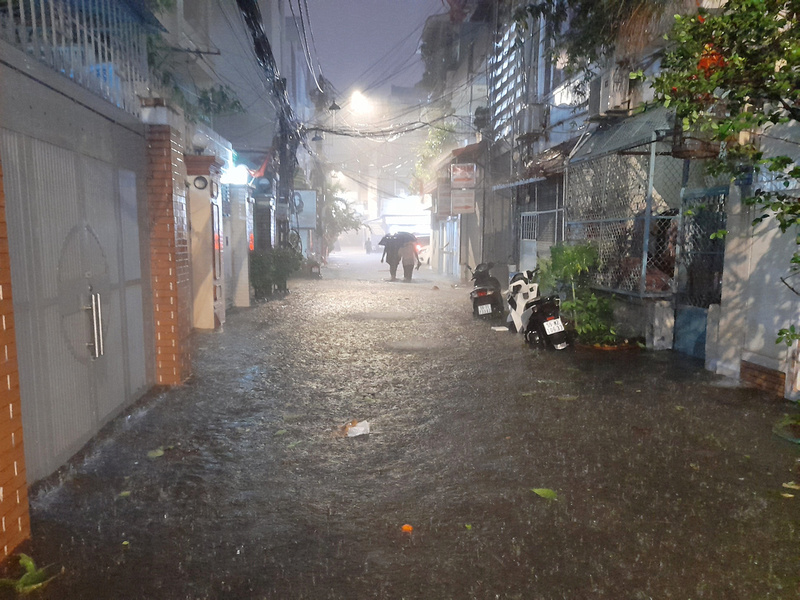 Flooded HCMC