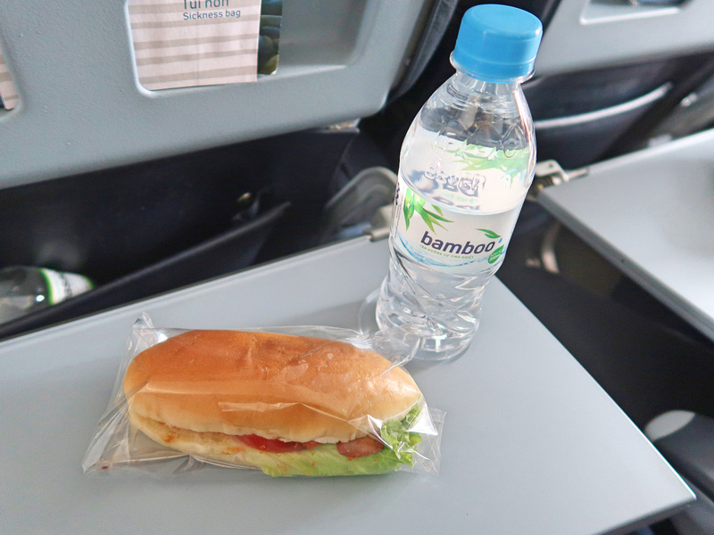 Bamboo Airways meal