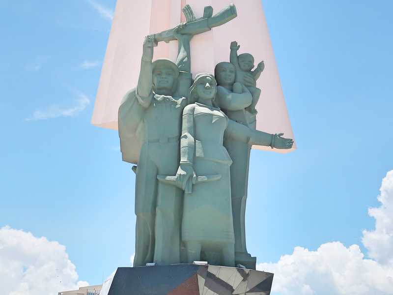 Victory monument - front
