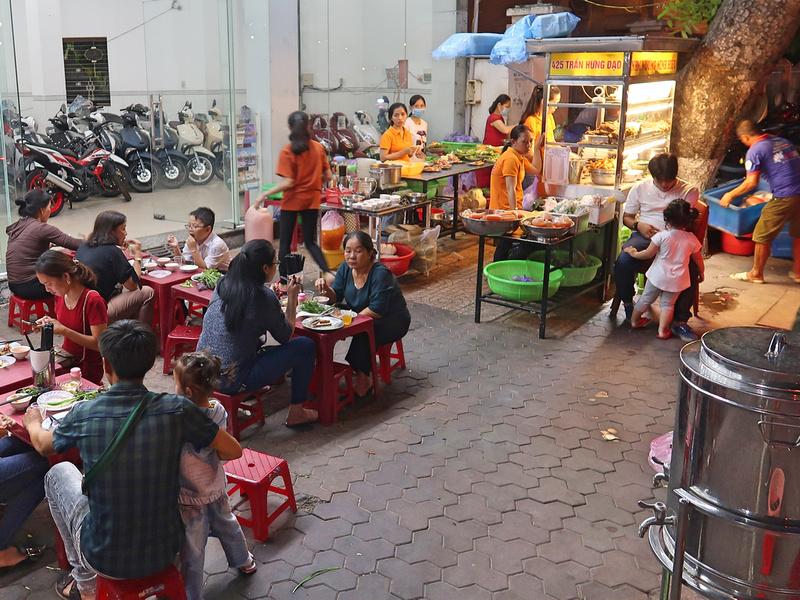 Nem Nuong Minh Hieu street food