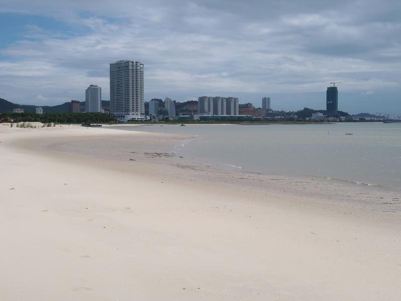 City beach view