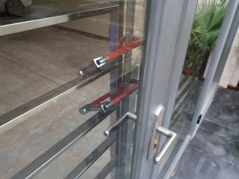Bike lock doors