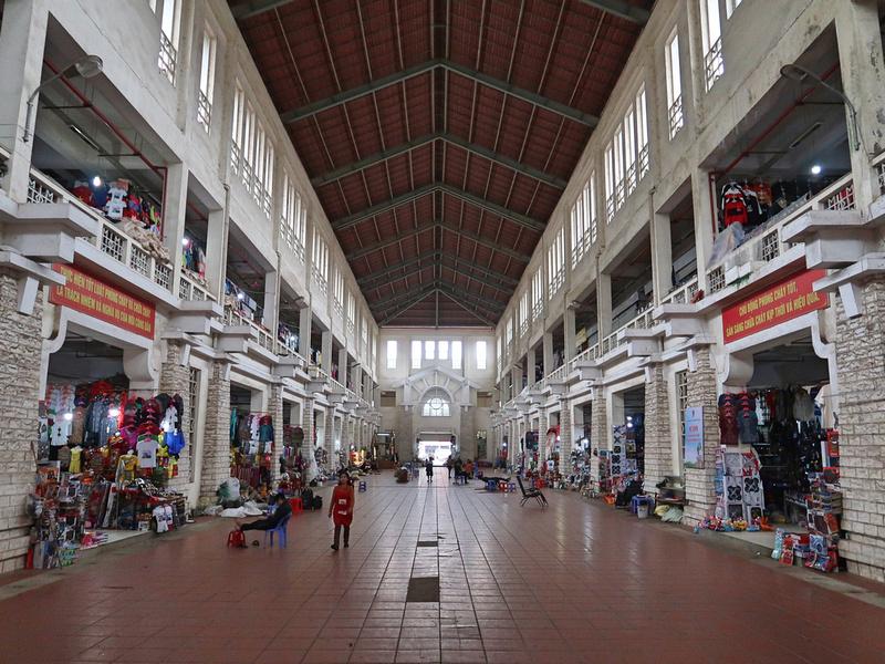 Inside Sapa Market