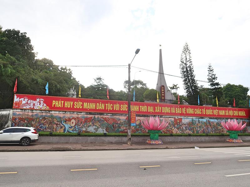 Lao Cai martyrs memorial