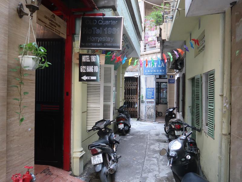 Old Quarter hotel entrance