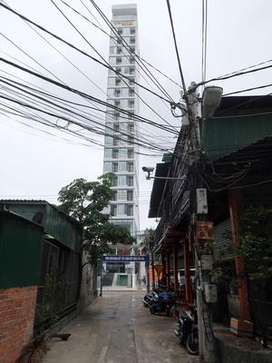 Tall skinny building