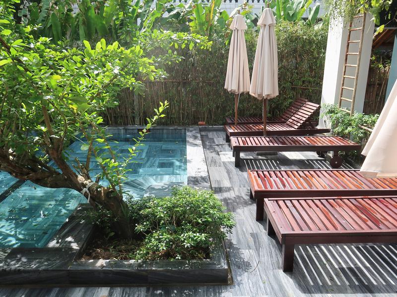 Pool at Daisy An Bang Villa