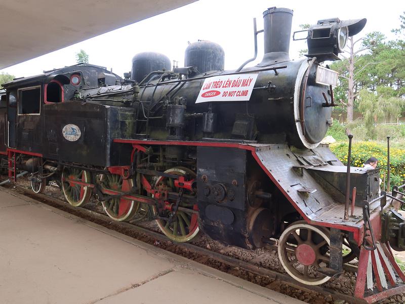 Da Lat steam train