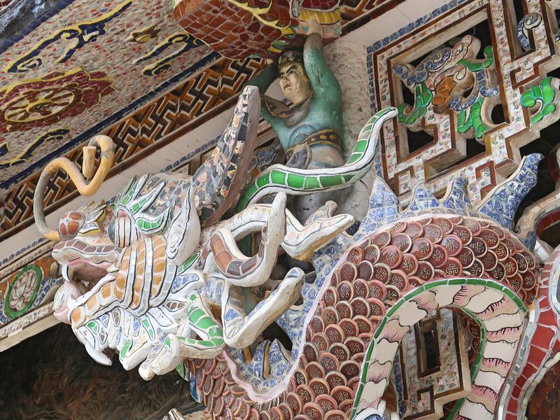 Mosaic temple