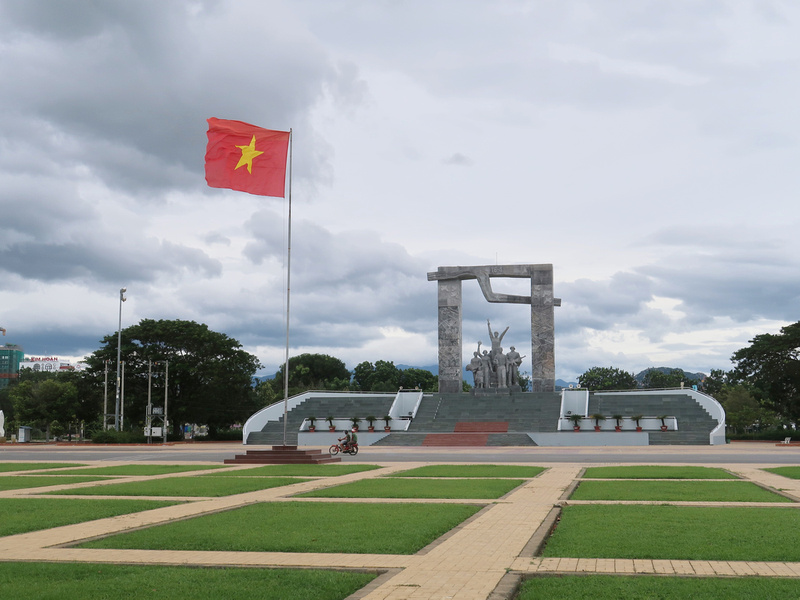 Victory Monument in Ninh Thuan Province