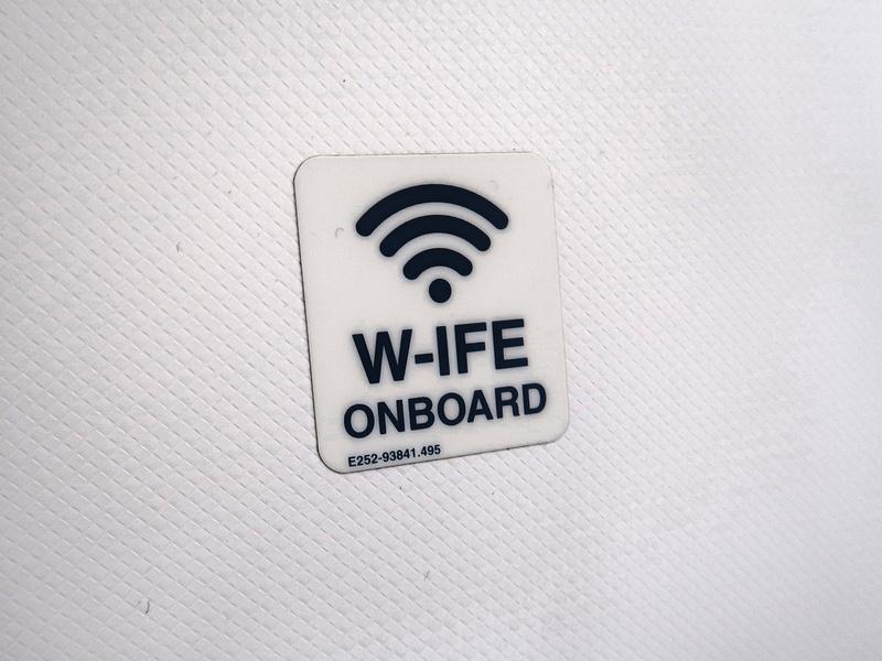 w-ife onboard