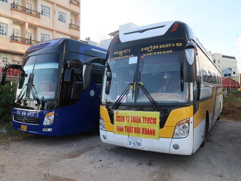 Cambodia bus
