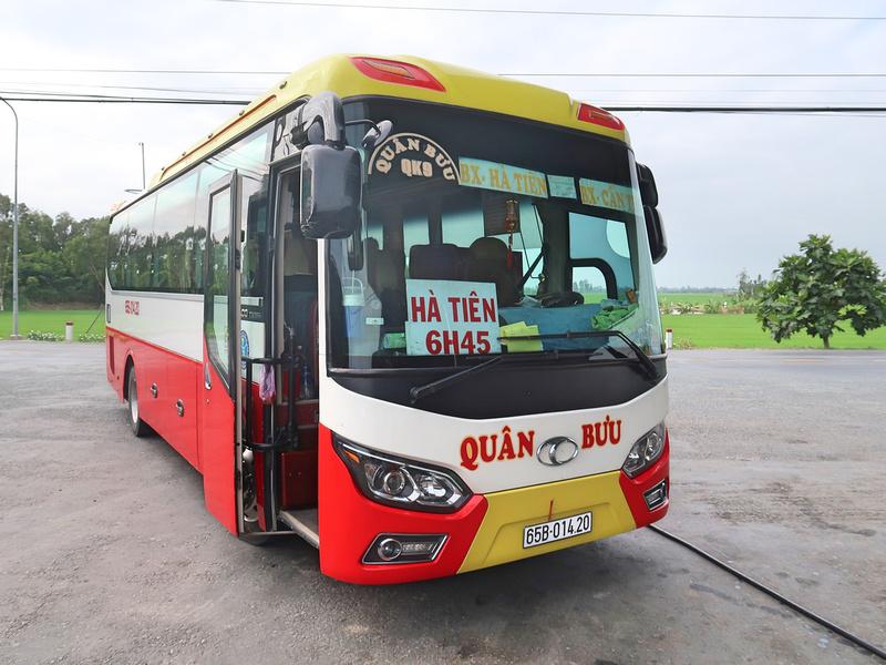 Can Tho - Ha Tien bus