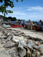 Concrete rubble post tsunami, Koh Phi Phi Don - Thailand.
